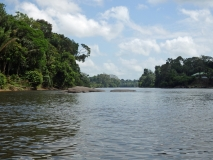 Jungle Resort Pingpe - de rivier