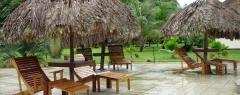 Hotel restaurant de plantage commewijne - Bij het zwembad