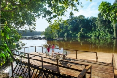 Danpaati River Lodge Rivier_Yoga deck