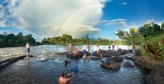Danpaati River Lodge Sula Regenboog