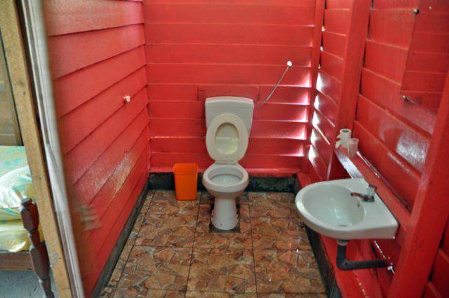 Isadou toilet