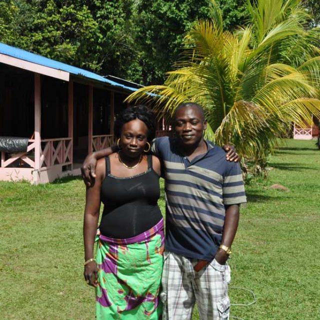 Volunteer Isadou