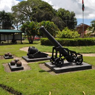 Fort Nieuw Amsterdam per Tuk Tuk