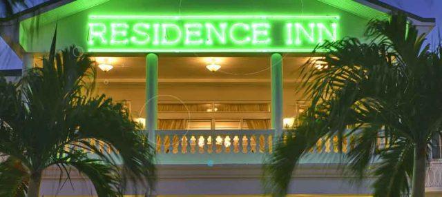 Residence Inn Paramaribo by night
