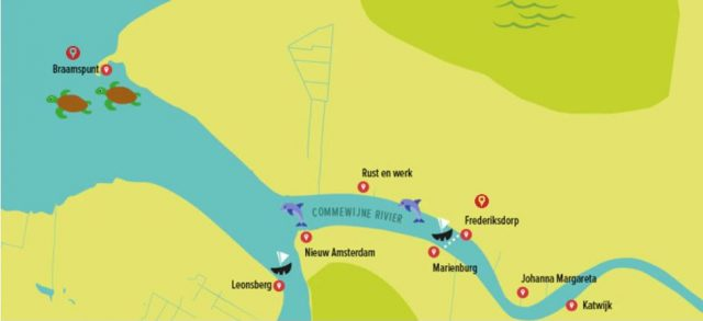 Map Frederiksdorp