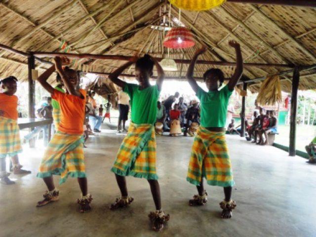Santigron cultural dance
